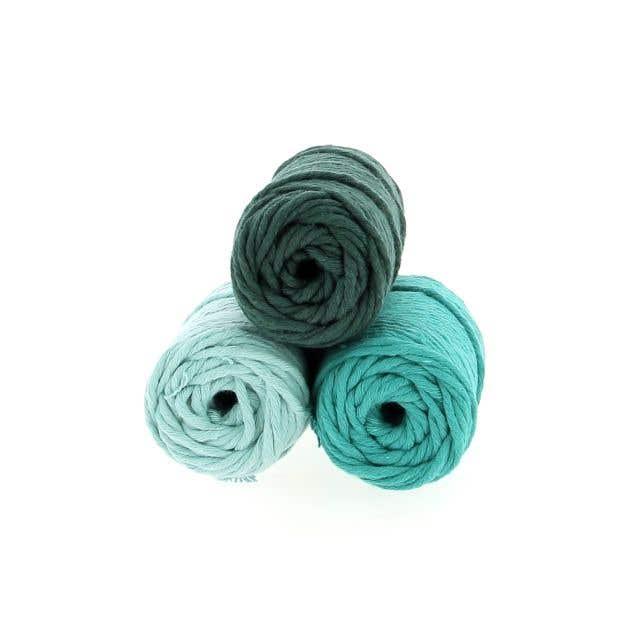Macramé Yarn Pack Spesso Forrest Mint