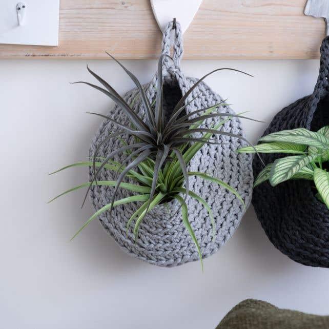 DIY Haakpakket Storage Bag Grey