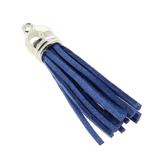 Gamuza cordón borla lápis