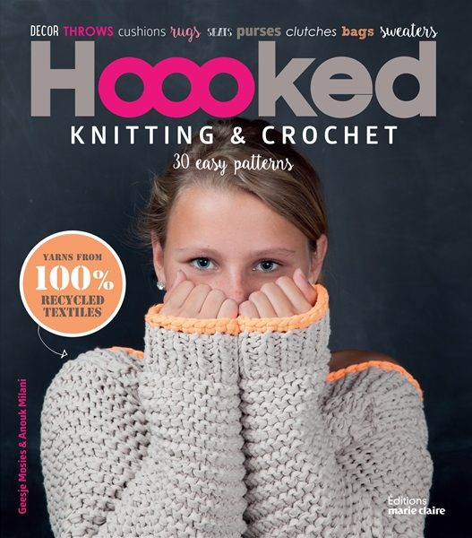 Hoooked Book Knitting and Crochet (English)