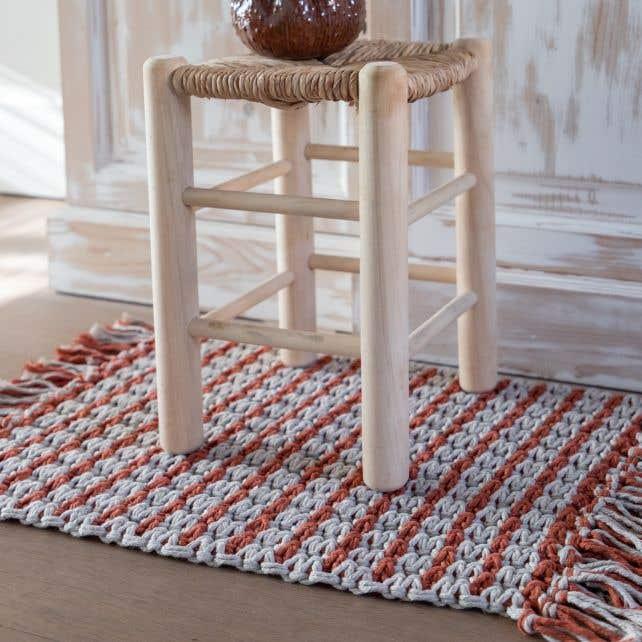 DIY Macramé Patroon Medina Kleed