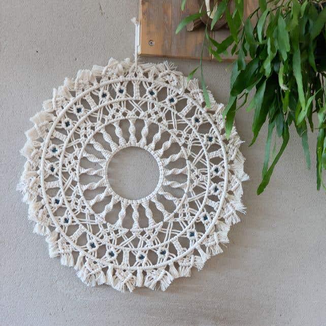 DIY Macramé Patroon Mandala Villalba