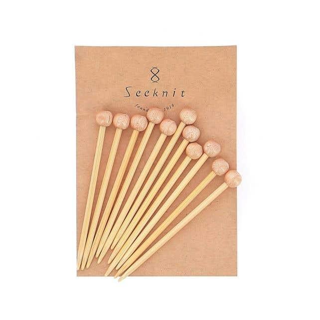 Shirotake bamboo marking pins XXL – set of 10