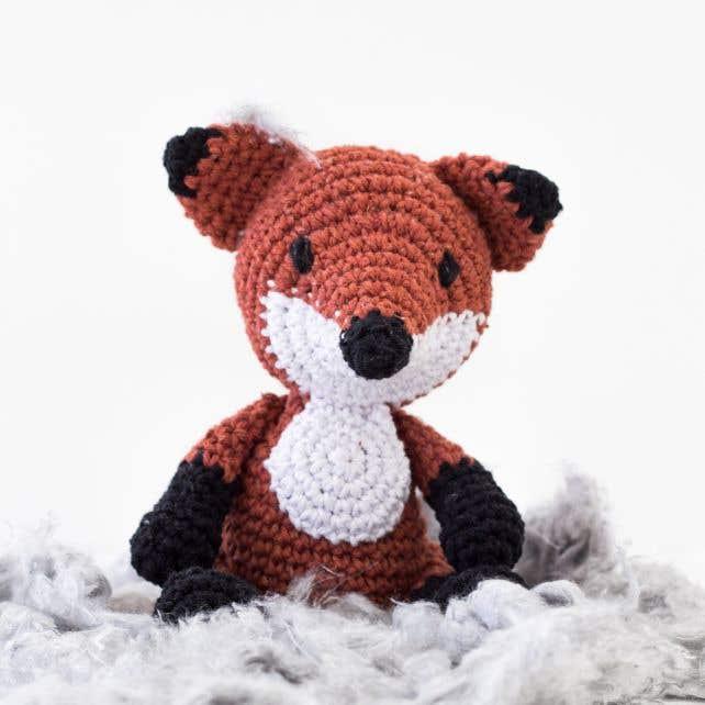 DIY Crochet Kit Fox Fergie