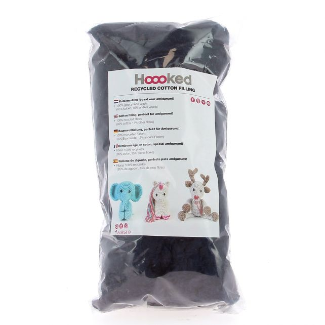 100% Recycled Cotton Filling 100gram - Storm