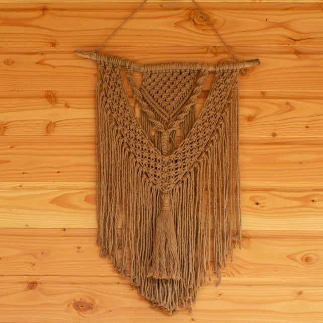 DIY Macramé kit Wall Hanger Brioni