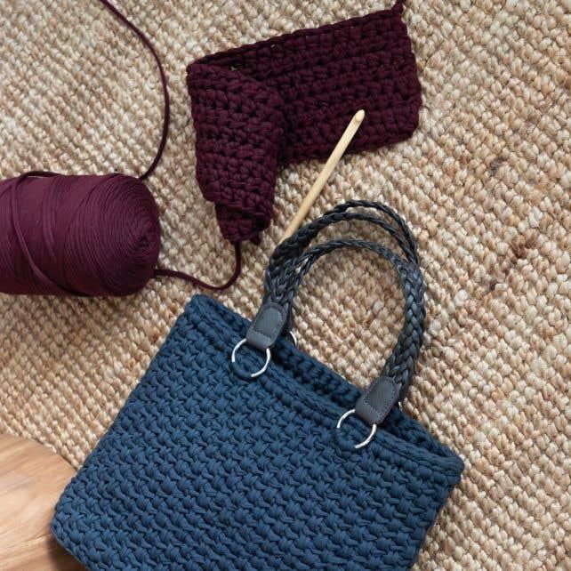 DIY Crochet pattern Copenhagen Bag