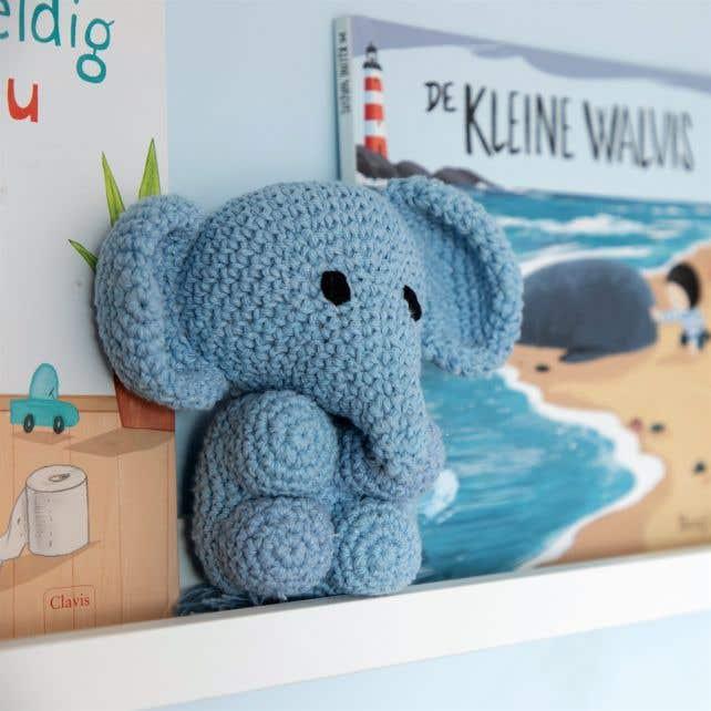 DIY Häkelanleitung Elefant Eco Barbante