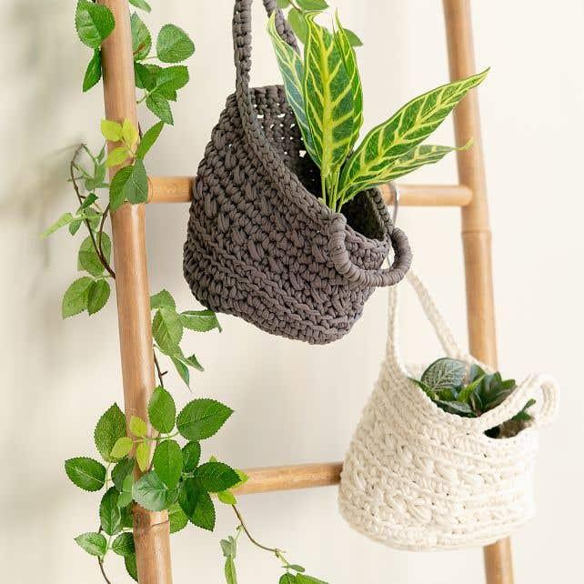DIY Crochet Pattern Revisto Basket