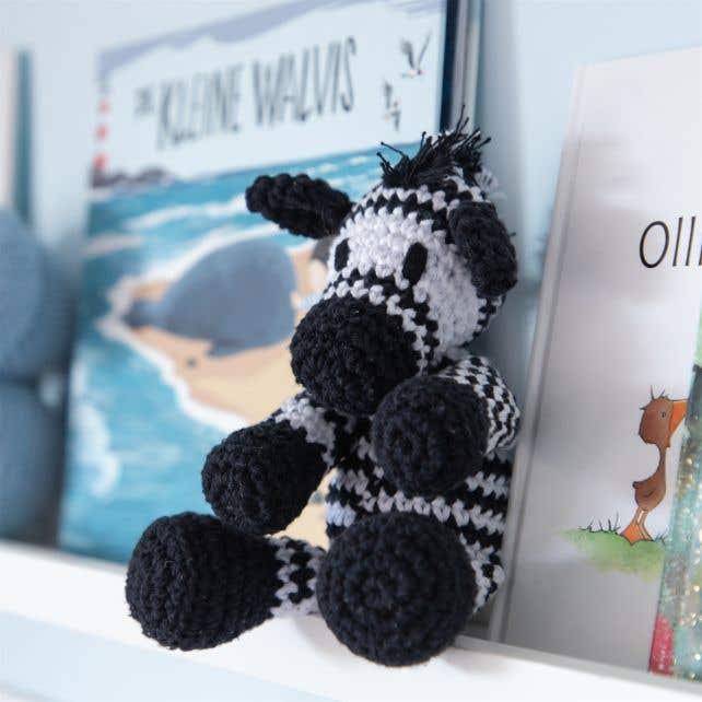 DIY Crochet Pattern Zebra Zizi Eco Barbante