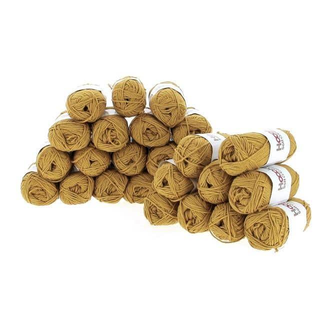Garenpakket Soft Cotton DK Sienna Ocre