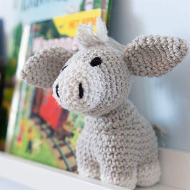 DIY Crochet Pattern Donkey Joe Eco Barbante