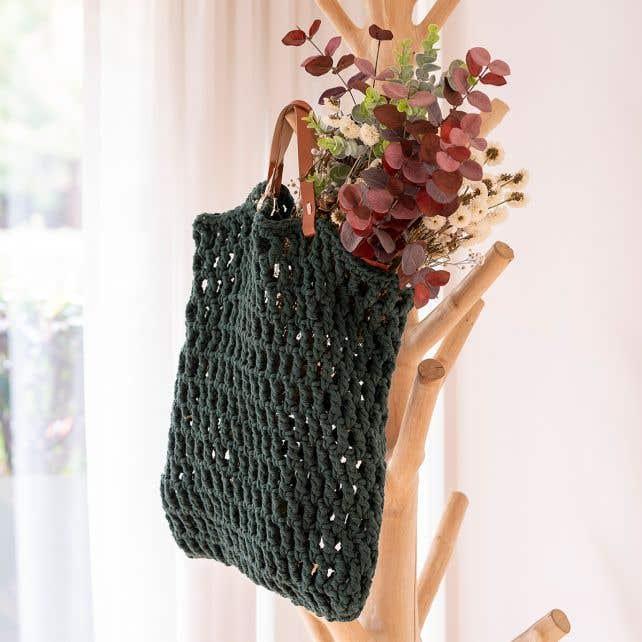 DIY Crochet Kit Tiago bag Pine
