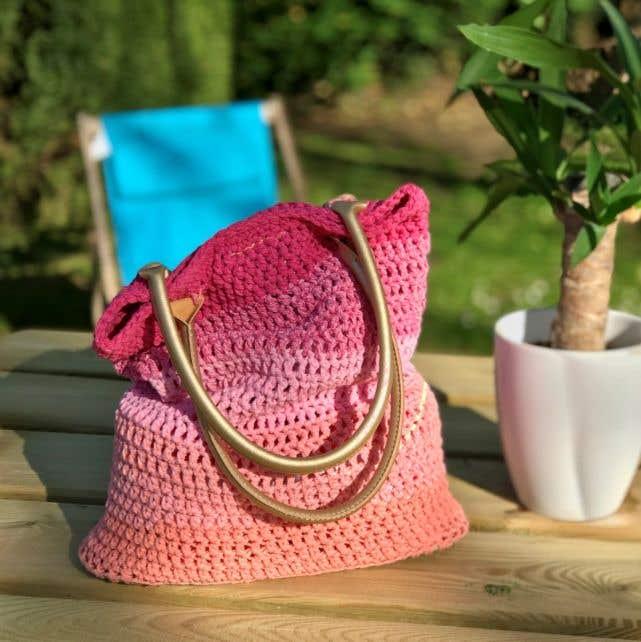 DIY Crochet Kit Tote Bag Menorca