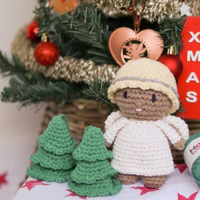 DIY Crochet Kit Christmas Angel Luna