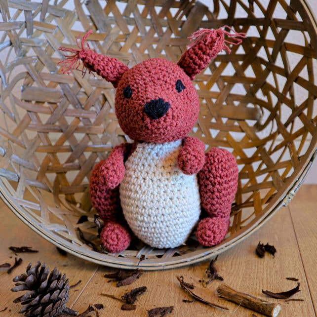 DIY Kit Amigurumi Squirrel Suzy