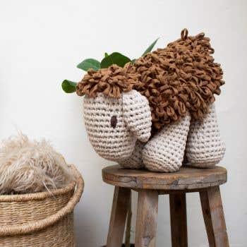 DIY Crochet Kit Sheep Robby