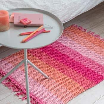 DIY Knitting Kit Rug Lastavo