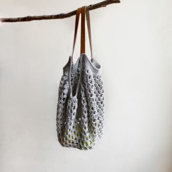 DIY Crochet Pattern Eco Market bag Bologna