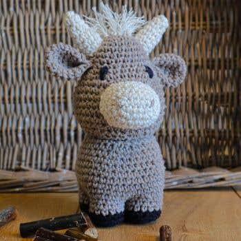 DIY Crochet Pattern Ox Oscar