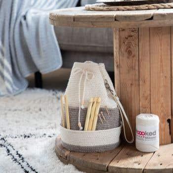 DIY Crochet Pattern Project bag Jönköping