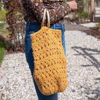 DIY Crochet Kit Saharun Summer bag