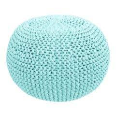 DIY Crochet & Knit Kit Zpagetti Pouf Sugar Mint