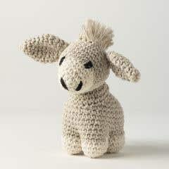 DIY Crochet kit Donkey Joe Eco Barbante Biscuit