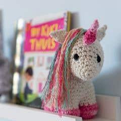 DIY Crochet Pattern Unicorn Nora Eco Barbante