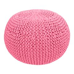 DIY Crochet & Knit Kit Zpagetti Pouf Pastel Blossom