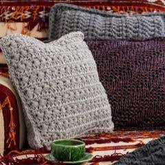 DIY Knitting Kit Cushion Luxor Dreaming Dust