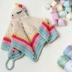 DIY Crochet Pattern Unicorn Lovey