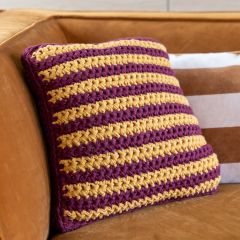 DIY Free Crochet Pattern Godric Cushion