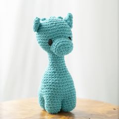 DIY Crochet Kit Giraffe Ziggy Eco Barbante Lagoon