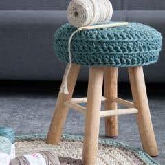 DIY Crochet Stool Pattern