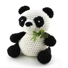Patrón de crochet para hacer por uno mismo XXL Oso Panda Yin