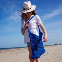 DIY Gratis Haakpatroon Biscaia Beach Bag