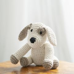 DIY Kit de Crochet Puppy Millie Eco Barbante