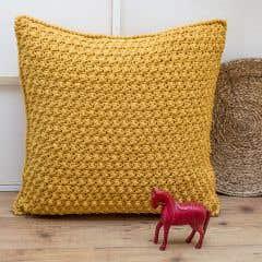 DIY Kit de Crochet Cojín de Suelo Braga
