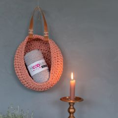 DIY Free Crochet Pattern Storage Bag Sana