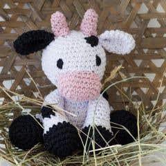 DIY Patrón de Ganchillo Vaca Kirby