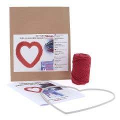 DIY Macrame Kit Wand Hanging Heart & Love