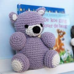 DIY Crochet Pattern Billie Bear Eco Barbante