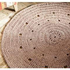 DIY Crochet Pattern Round Rug Zpagetti