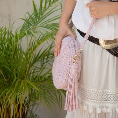 DIY Crochet Pattern Round Bag Mirjana