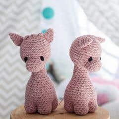 DIY Crochet Kit Giraffe Ziggy Eco Barbante Blossom
