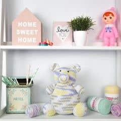 DIY Free Crochet Pattern Amigurumi Teddy Bear