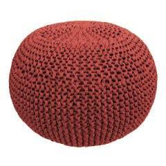 DIY Crochet & Knit Kit Zpagetti Pouf Brick