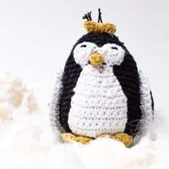 DIY Patrón de Ganchillo Pingüina Coco