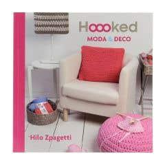 Hoooked Spanisch Häkelbuch Moda & Deco